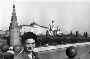 Giovanna Moro in Moscow